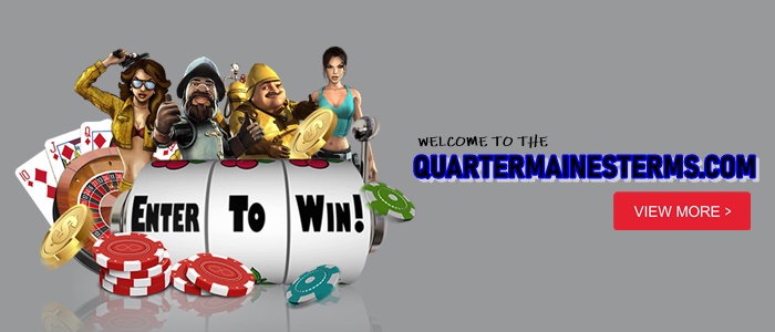 quartermainesterms.com homepage